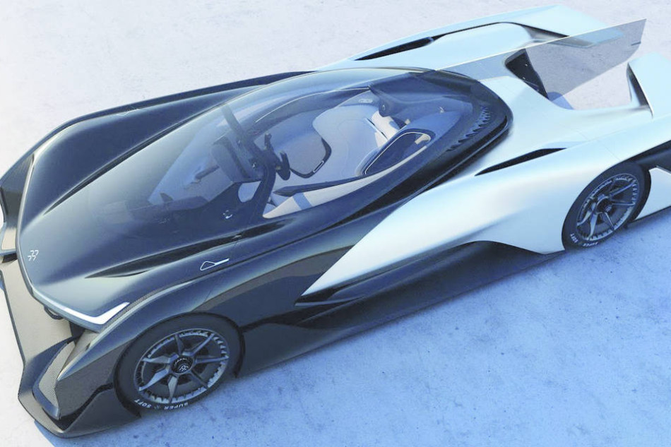 FF_CES_Racecar_courtesy of Faraday Future