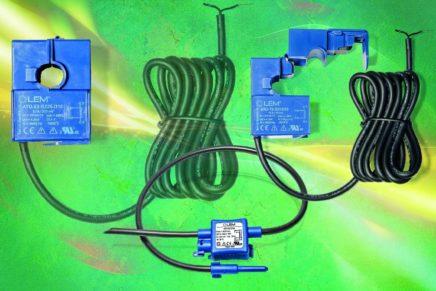 Sensori di corrente intelligenti, precisi e di facile utilizzo