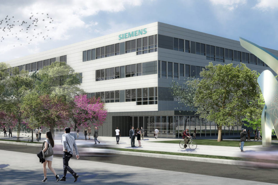 Siemens: posata la prima pietra del nuovo headquarter italiano