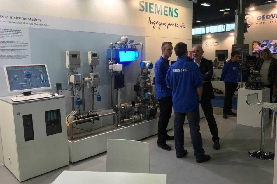 Automazione degli impianti e telecontrollo Siemens per il ciclo idrico integrato