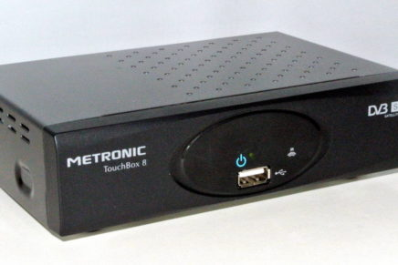 Test – Ricevitore SAT HD FTA Metronic Touch Box 8