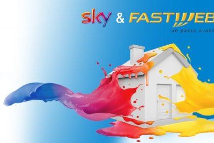 Fastweb e Sky, nuova alleanza per banda larga e pay-tv