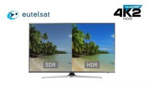 Eutelsat Hotbird 4K2 HDR
