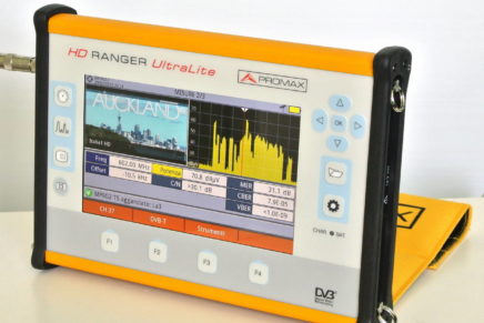 Test – Misuratore di campo Promax HD Ranger UltraLite