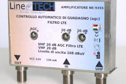 Test – Amplificatori da palo Line@Tech NE-93XX