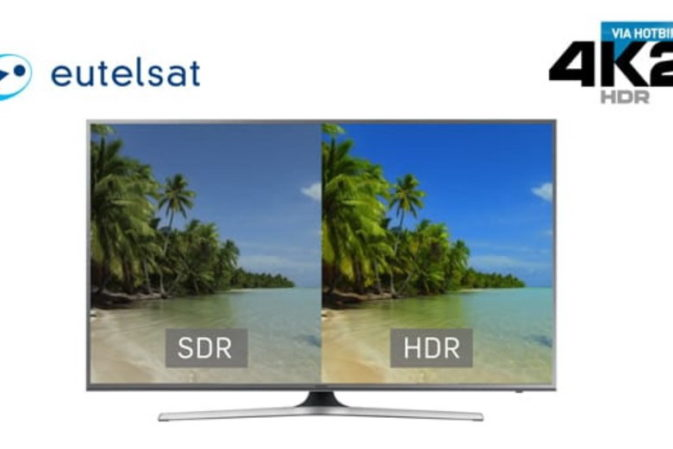 Eutelsat, nuovi test in Ultra HD HDR