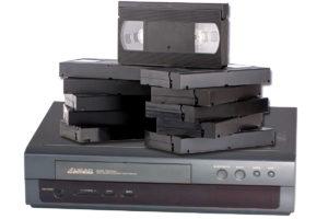 VCR VHS Addio
