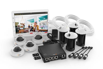 Soluzione a quattro telecamere per punti vendita e uffici