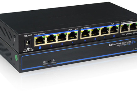 Switch Ethernet per video IP