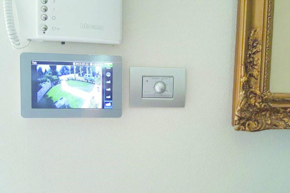 Antintrusione e video perfettamente integrati in uno scenario di pregio