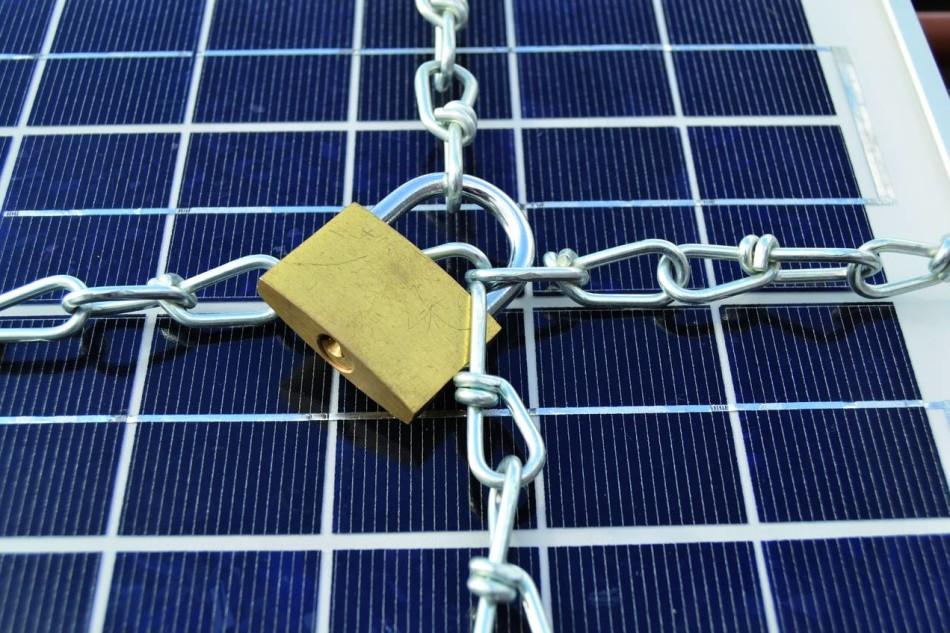 AF300, antifurto a fibra ottica per moduli fotovoltaici