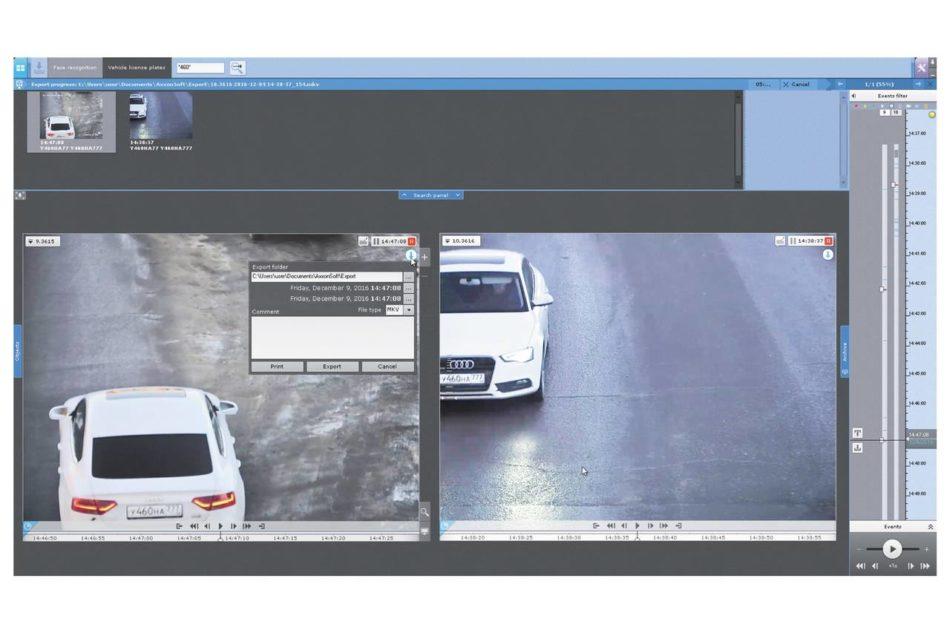 Software di video management Axxon Next 4