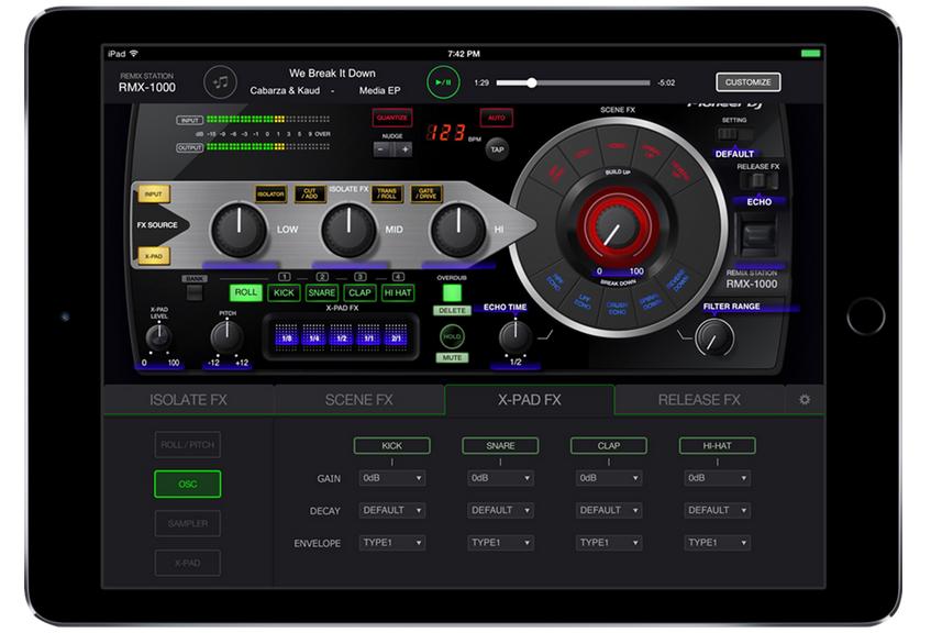 app RMX-1000 Pioneer Dj