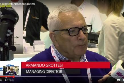IBC 2015: Armando Grottesi, Managing Director Cinetech