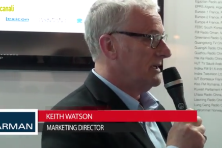 IBC 2015: Keith Watson, Managing Director, Harman