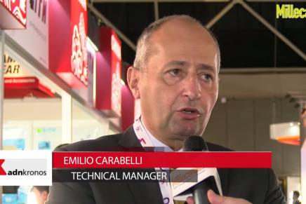 IBC 2015: Emilio Carabelli, Technical Manager ADN Kronos