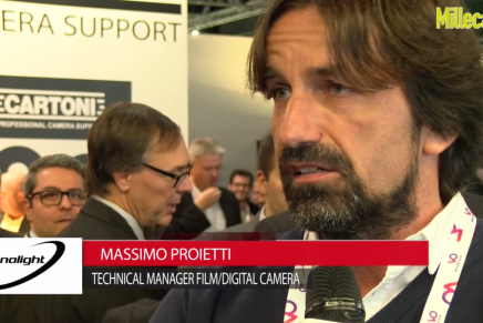 IBC 2015: Massimo Proietti, Technical Manager Film/Digital Camera, Panalight