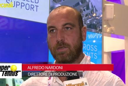 IBC 2015: Alfredo Nardoni, Direttore di Produzione, Supertennis