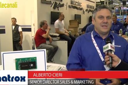 IBC 2015: Alberto Cieri, Senior Director Sales & Marketing, Matrox
