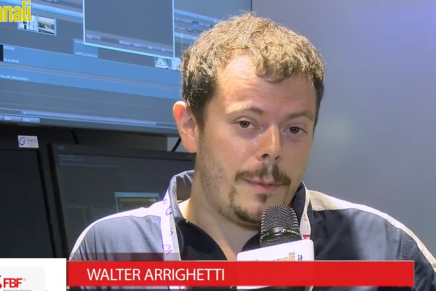 IBC 2015: Walter Arrighetti, CTO Frame by Frame