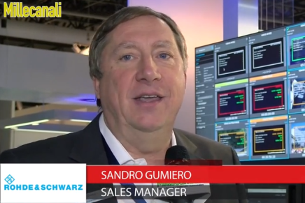 Ibc 2015: Sandro Gumiero, Sales Manager Rohde Schwarz
