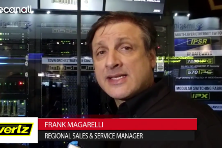 Nab 2016, Frank Magarelli, Regional Sales and Service Manager, Evertz