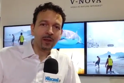 Nab 2016, Guido Meardi, co-founder e Ceo di V-Nova