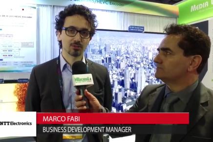 Nab 2016, Marco Fabi, Business Development Manager, NTT
