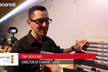 Nab 2016, Tim Siddons, Director of Channel Sales, Blackmagic