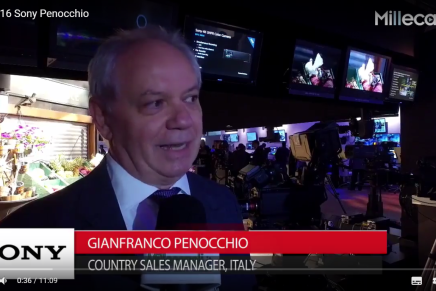 Nab 2016, Gianfranco Penocchio, Country Sales Manager Italy, Sony