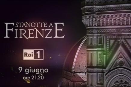 Il fascino di Firenze in UHD HDR per la prima serata di Rai 1