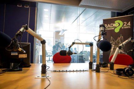 Studio di Radio 24