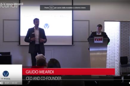 IBC 2016, Guido Meardi, V-Nova