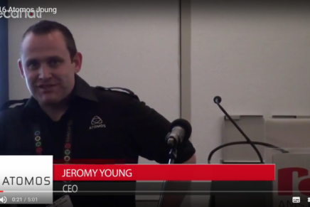 IBC 2016: Jeromy Young, Atomos