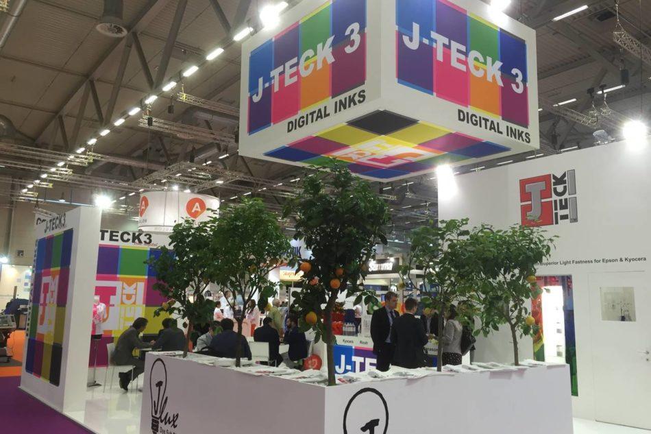 Gli inchiostri sublimatici di J-Teck3 per il tessile a ITMA Asia 2016