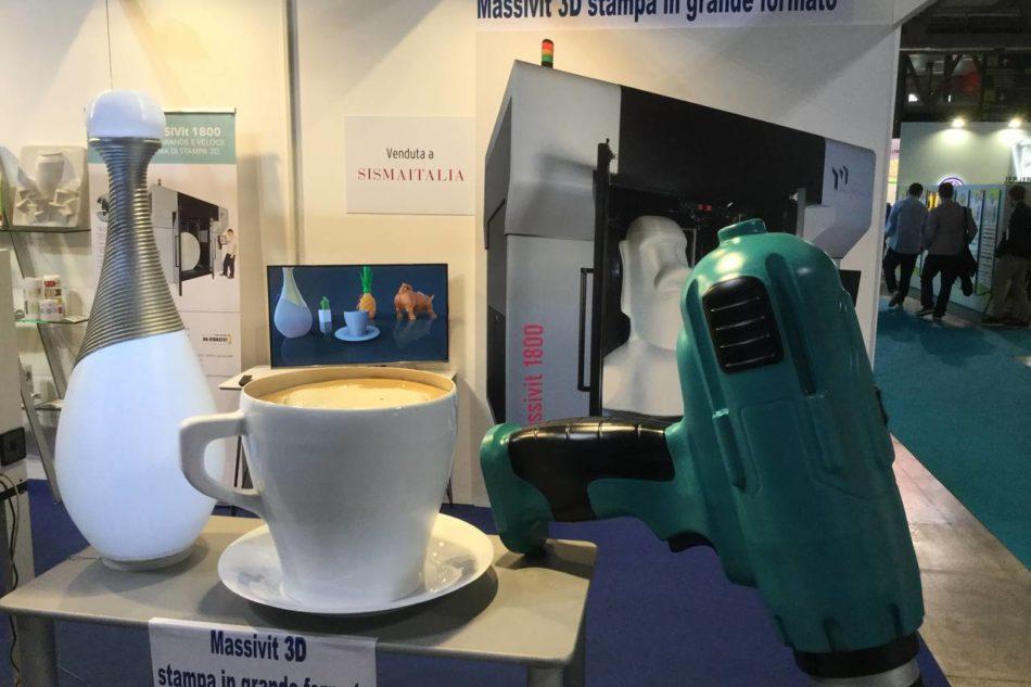 È di Sisma Italia la prima Massivit 3D