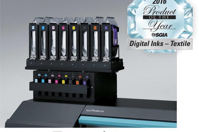 Gli inchiostri TrueVIS e Texart di Roland DG prodotti dell'anno a SGIA 2016