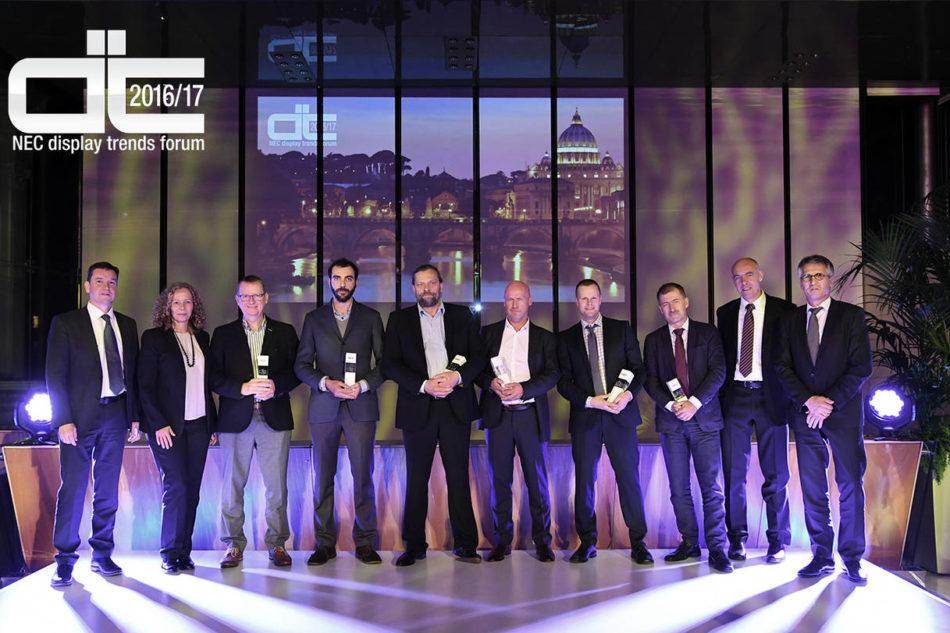 NEC celebra i successi dei partner a Display Trends Forum 2016