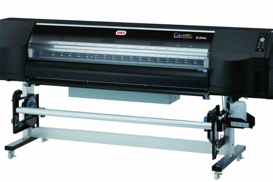 Da OKI la nuova stampante grande formato ColorPainter E-64s