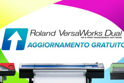 Disponibile l'aggiornamento di VersaWorks Dual RIP di Roland DG