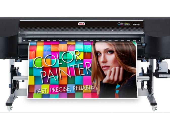 Da OKI E-64s, l'ultima arrivata delle ColorPainter Premium