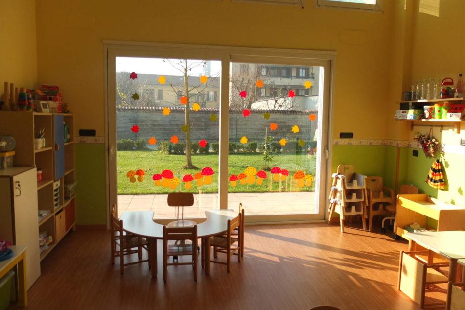 Mactac all 39 asilo nido la decorazione che stimola i sensi for Addobbi autunno scuola infanzia