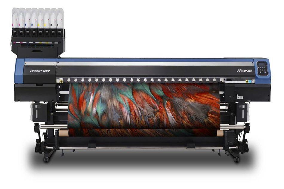 Mimaki: tecnologia ibrida per stampa su cotone e poliestere