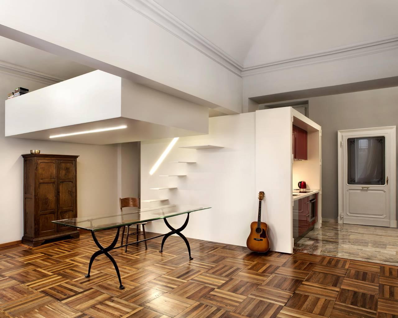 Da appartamento con doppio ingresso a monolocale indipendente for Piani di casa rustici con soppalco