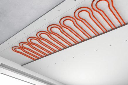 Sistema radiante a soffitto by REHAU