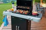I barbeque a gas Campingaz 2 Series Rbs sono dotati di speciale bruciatore  per cucinare senza fumo