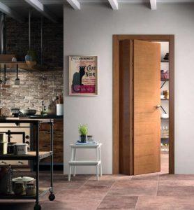 Modula è la porta con due ante asimettriche di FerreroLEgno