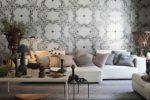 Eve di Ceramica Bardelli è una collezione di piastrelle in ceramica per il rivestimento di interni, in bicottura decorata a mano