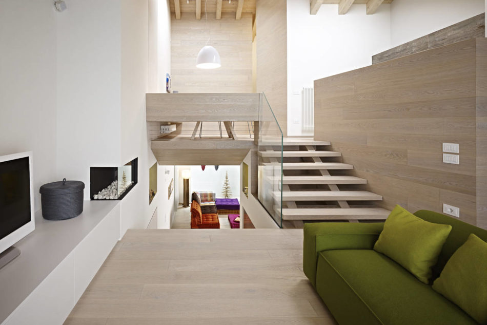 """Un mattone di legno per l'interior design """"eco"""""""