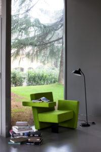 Meet-Me, poltrona girevole di Bartoli Design per Segis